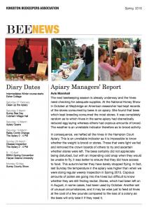 Bee News January 2016